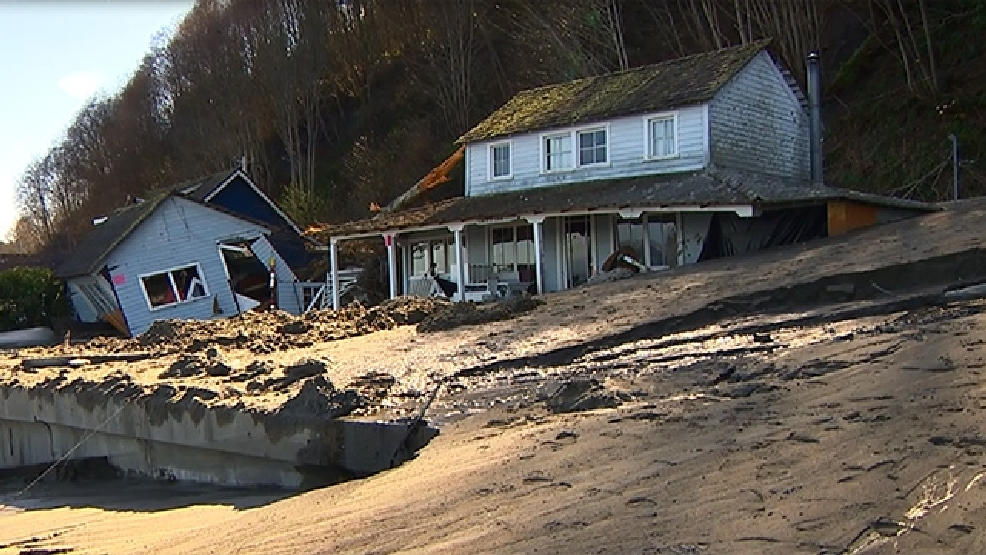 Slide destroys home on Whidbey Island | KOMO