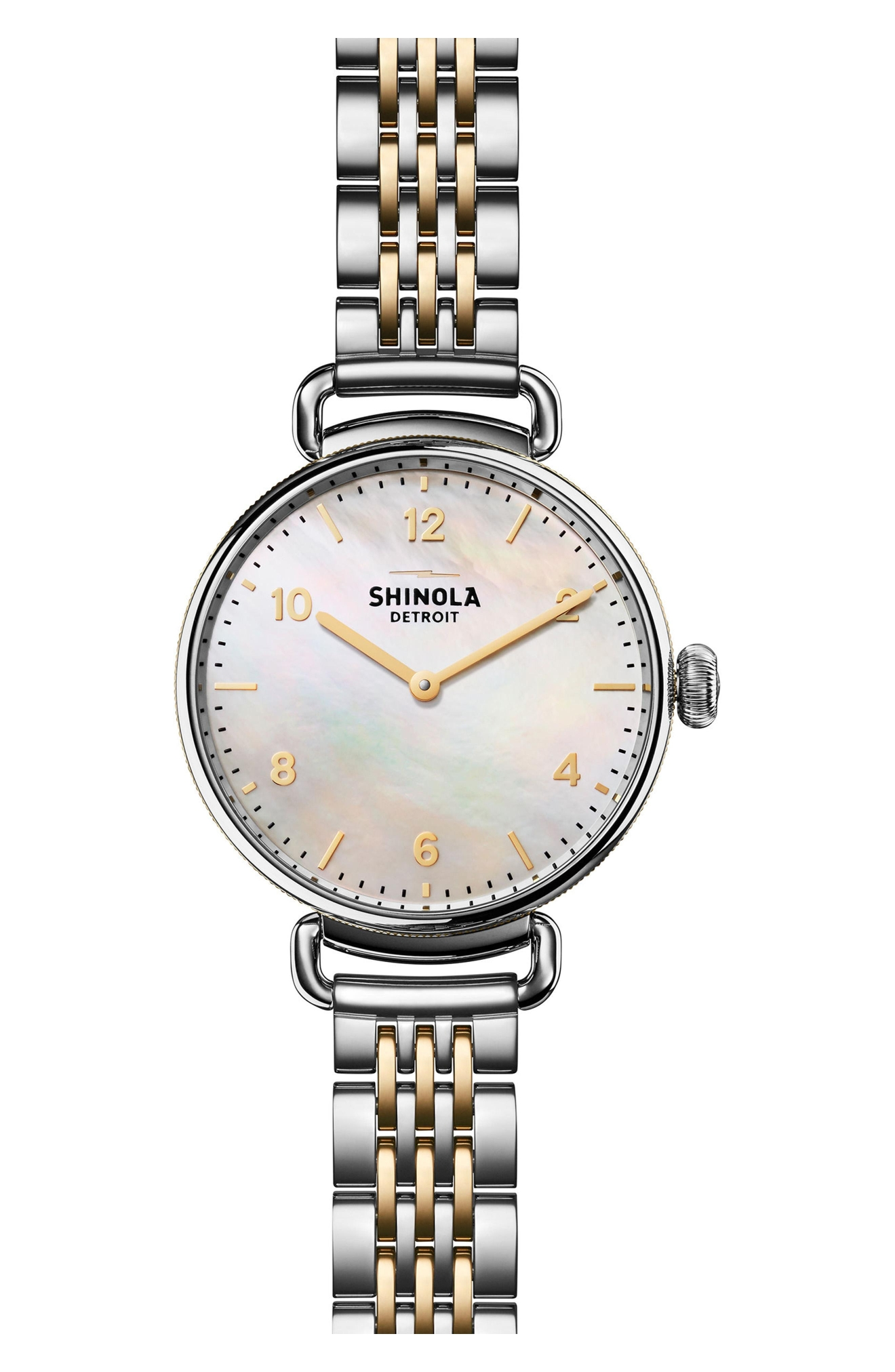 Shinola Canfield 32 MM Gift Set Brace Heather Grey - Silver, $995 (Photo: Nordstrom)