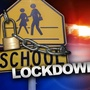 Downey Elementary School on lock down