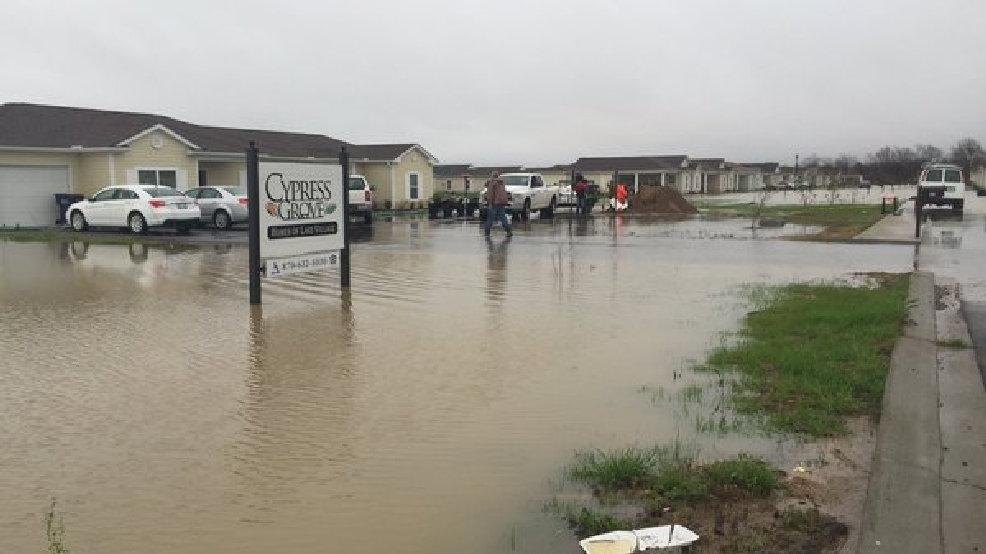 Lake Village Residents Forced To Evacuate Because Of Flooding