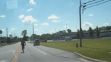 VIDEO: Cruiser rolls away from Ohio deputy during traffic stop