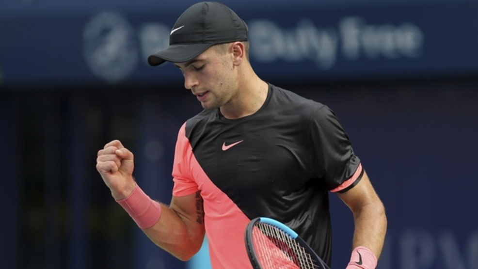 With his victory over Taylor Fritz at Indian Wells, Borna Coric improved to 2-0 in his career against the American. (AP)