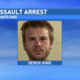 Grants Pass man arrested after assaulting another man with a tree branch