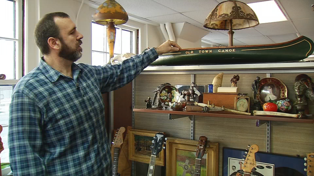 "Joe Stinson, owner of Stinson & Company in Portland, will appear on three episodes of ""Pawn Stars"" on The History Channel starting January 22 (WGME)."