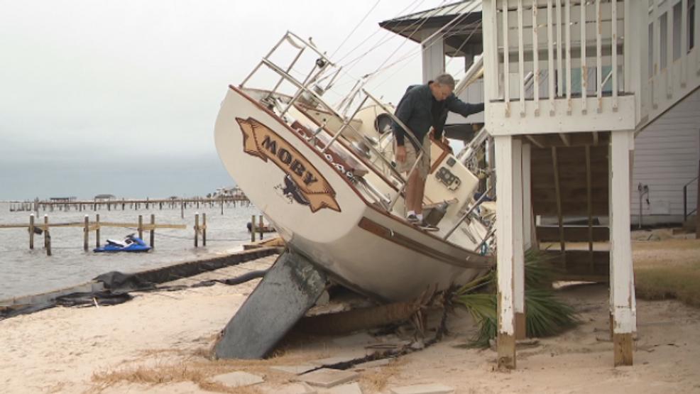 Florida man survives Hurricane Sally on his sailboat