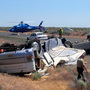 1 critically hurt as motorhome, SUV crash on I-90 near Moses Lake
