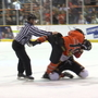 HIGHLIGHTS:  Rhinos brawl with OKC in playoffs, take game 1