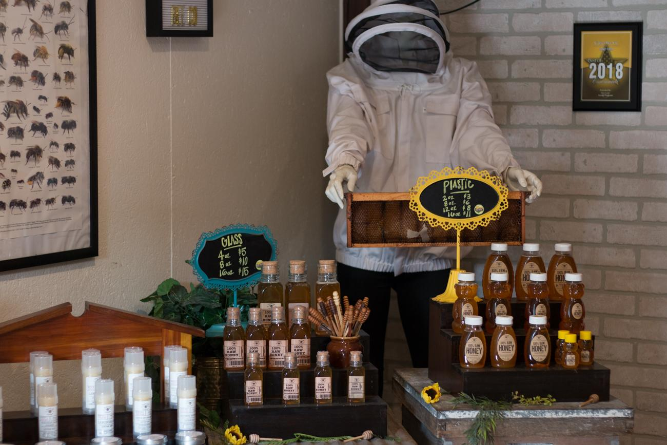 Gaiser Bee Company in Monfort Heights offers raw honey, beekeeping equipment, fresh eggs, and handmade skincare products like lip balms and lotions that contain beeswax from their farm. Their products can be found at local markets and stores including Joseph-Beth Booksellers, Rose & Remington, and the Cincinnati Zoo. Visit the farm Monday through Friday 9 AM-4 PM. There you'll see bees, goats, chickens, and even retired peacocks. ADDRESS: 3402 Kleeman Road (45211) / Image: Lacey Keith // Published: 6.6.19