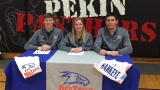 Three Pekin Panthers sign to Hawkeye CC
