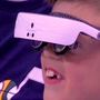 Technology lets legally blind boy see Jazz game for first time