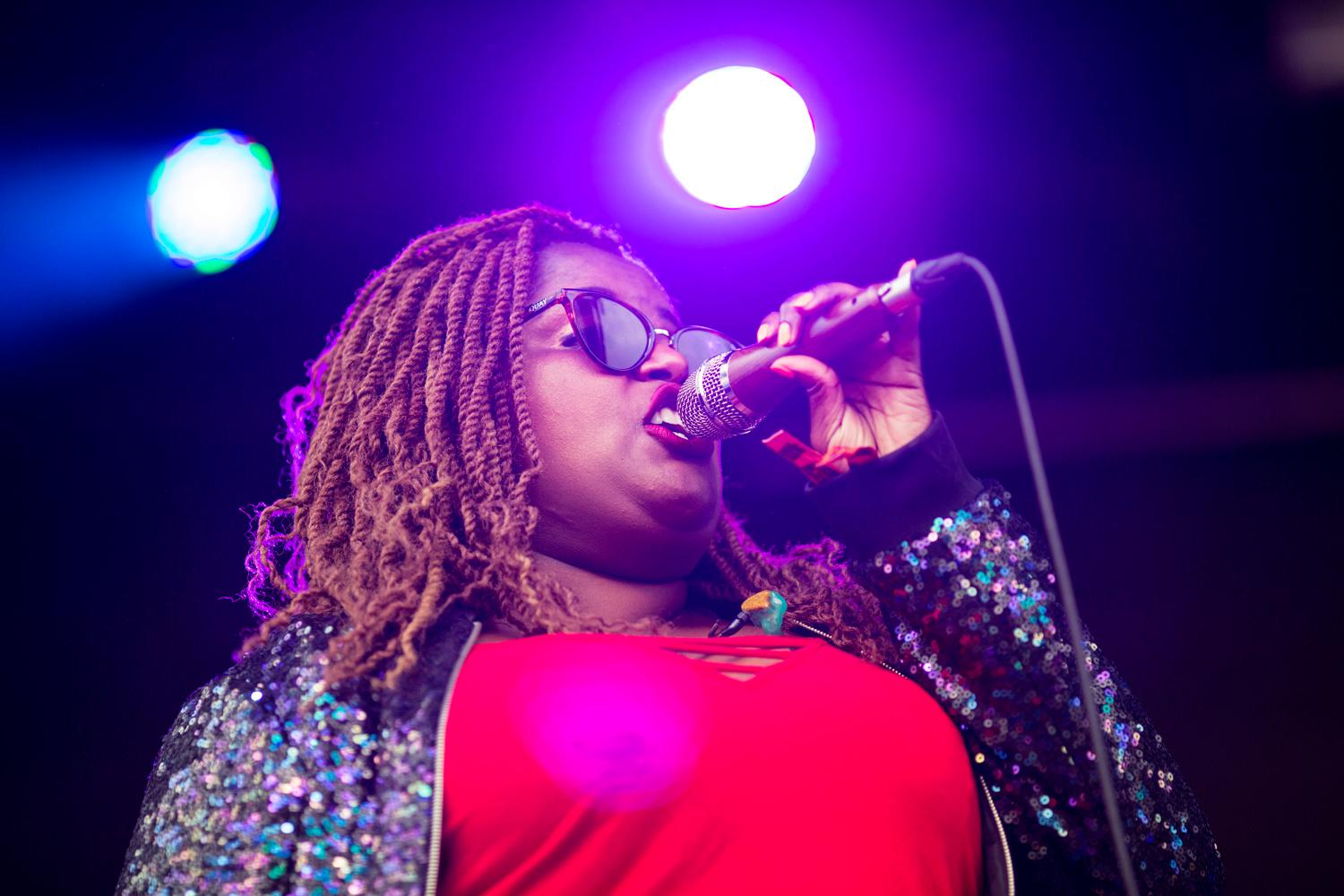 The Suffers performed on the first day of the annual Sasquatch! Music Festival. The three-day festival runs throughout the Memorial Day Weekend, from May 25-27, 2018. (Sy Bean / Seattle Refined)