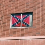 Confederate flag hung 'as a joke' removed from BYU student's dorm window after petition