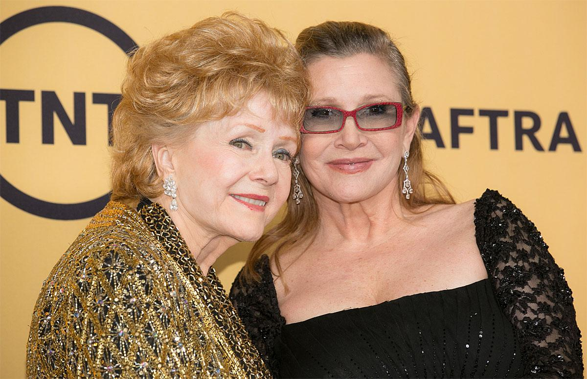 21st Annual SAG Awards - Press Room at Los Angeles Shrine Exposition CenterFeaturing: Debbie Reynolds, Carrie FisherWhere: Los Angeles, California, United StatesWhen: 22 Jan 2015Credit: Brian To/WENN.com