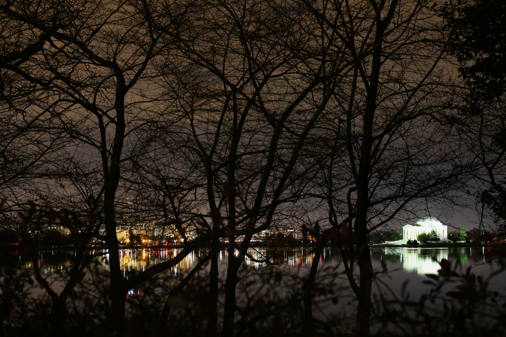 We get it, it's cold out. But the tourists have dissipated, the night skies are clear and now is the perfect time to explore D.C. after dark. Here are 12 photos that prove it's worth bundling up to venture outside. (Amanda Andrade-Rhoades/DC Refined)
