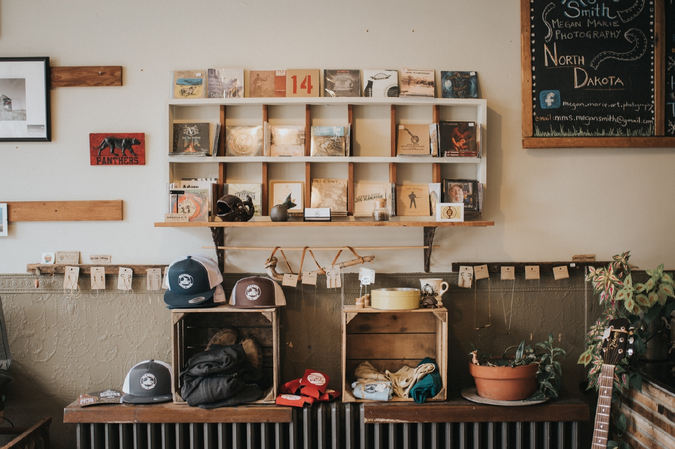 "Folk School Coffee Parlor was established in November 2014 by ""Catfish"" Matt Williams. He has been the sole owner since 2014. / Image: Brianna Long // Published: 3.17.17"