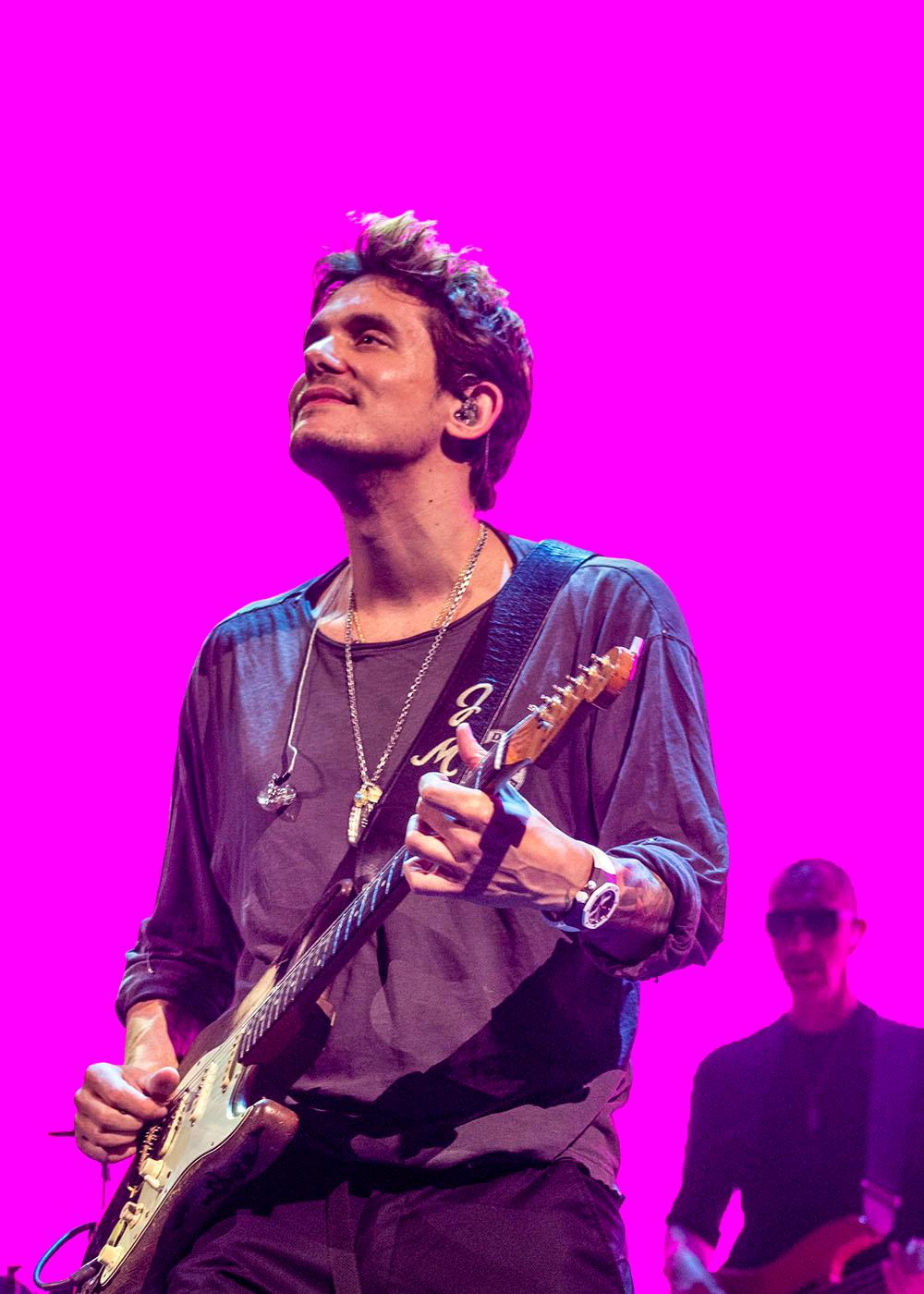 "Adoring fans filled the Moda Center Saturday night to hear John Mayer perform. He's currently touring on ""The Search For Everything"" tour. Photo taken Saturday, July 22, 2017 by Amanda Butt"