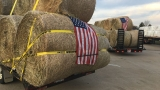 Local farmers load up 30 trucks full of supplies to help Kansas farmers devastated by fire