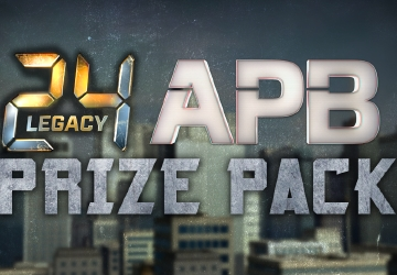 24: Legacy & APB Prize Pack Contest