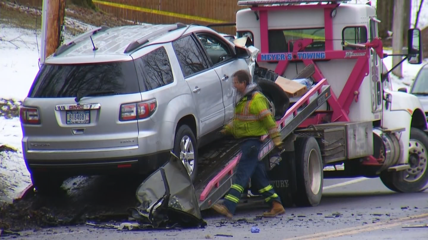 The driver of the SUV that struck the Impala fled the scene, state police said.