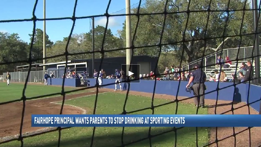 Fairhope High School principal warns parents not to drink at games