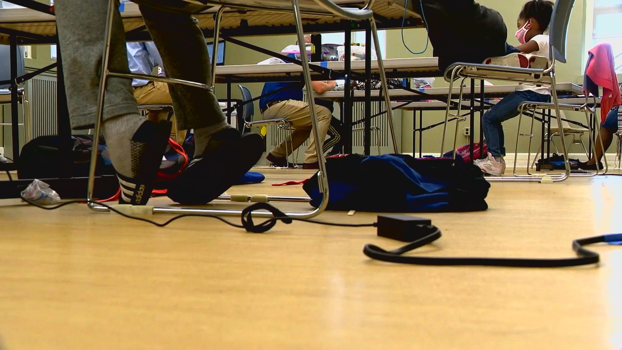 Asheville City Schools will remain all virtual for at least another three to four weeks. (Photo credit: WLOS staff)