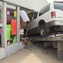Shoe store searches for solutions after fourth car-related crash into building