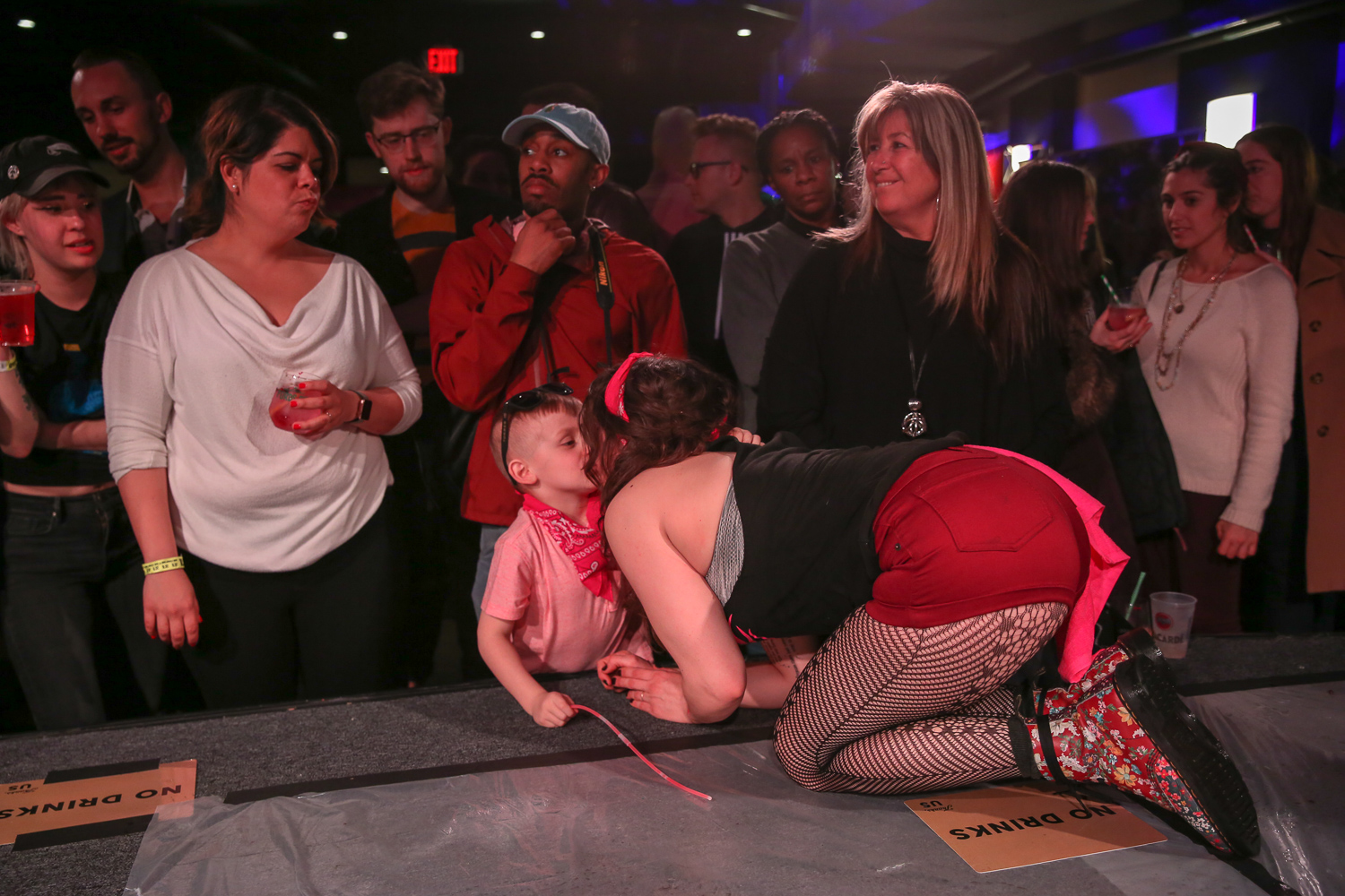 Kendra Copeland of The Partisan - her son, 6-year-old Theodore, was in the audience cheering her on. (Amanda Andrade-Rhoades/DC Refined)