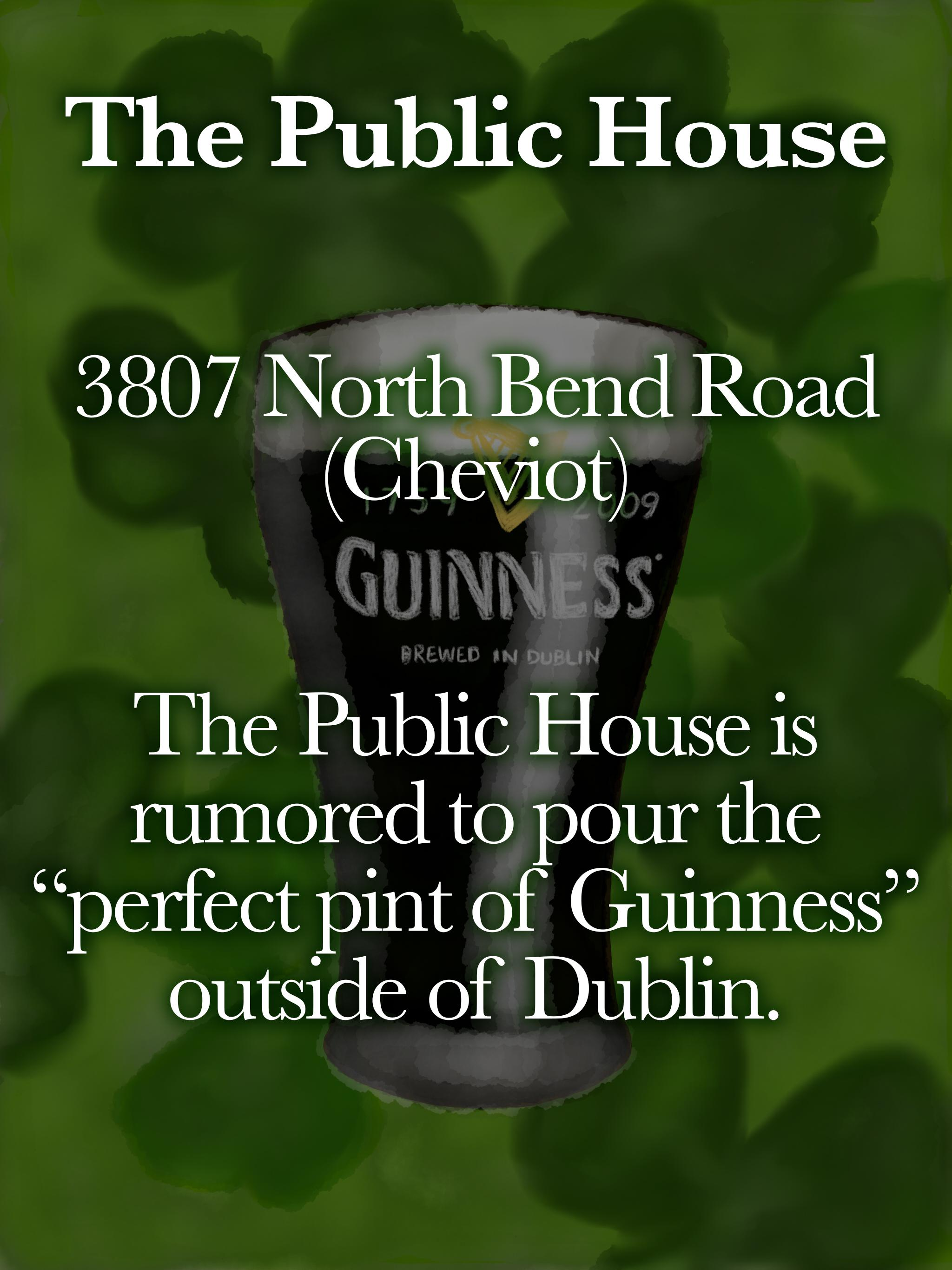 The Public House / ADDRESS: 3807 North Bend Road (Cheviot) // Published: 3.16.19