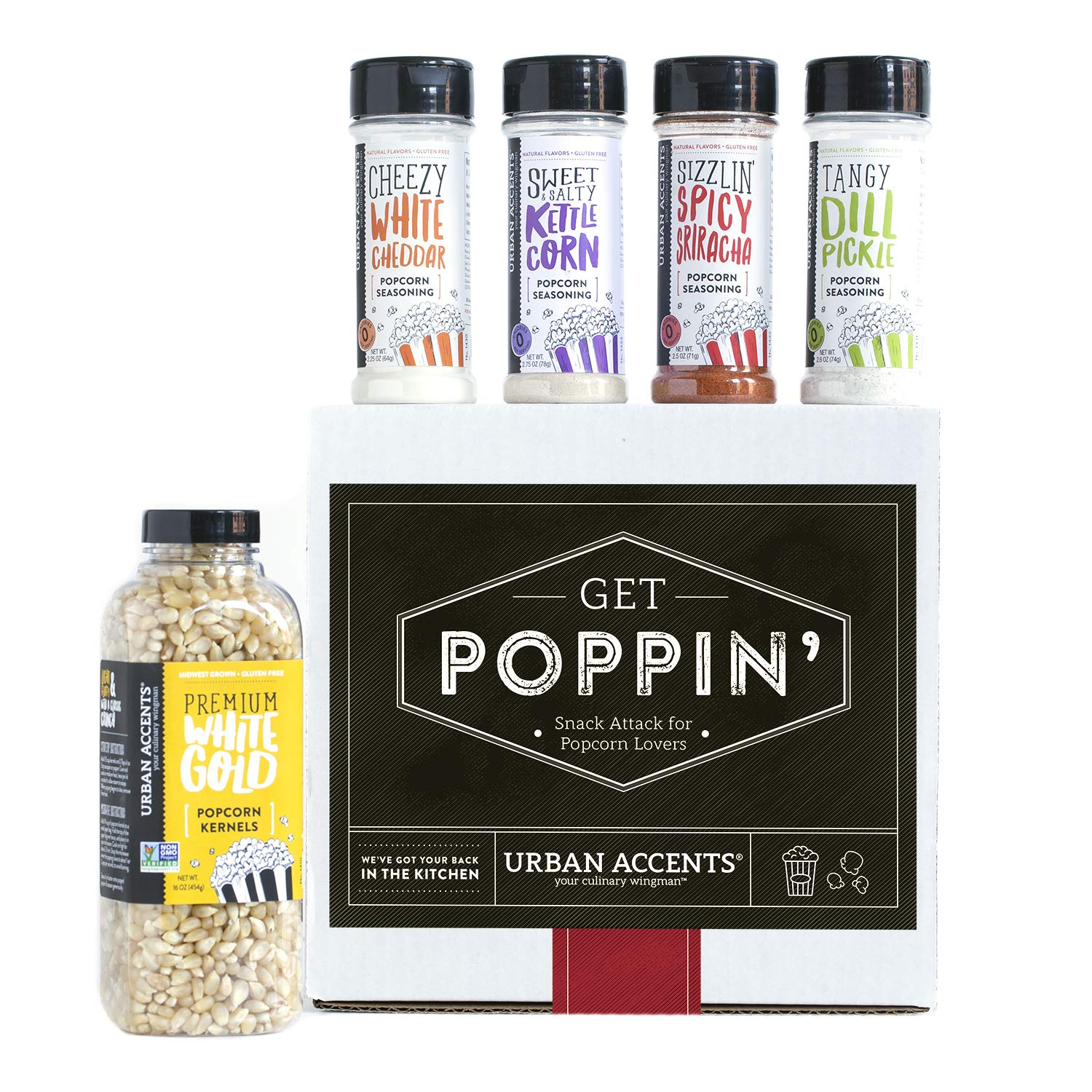 Netflix and chill with lots of yummy popcorn options! Shop it{ }- $25 (Image: Amazon){ }