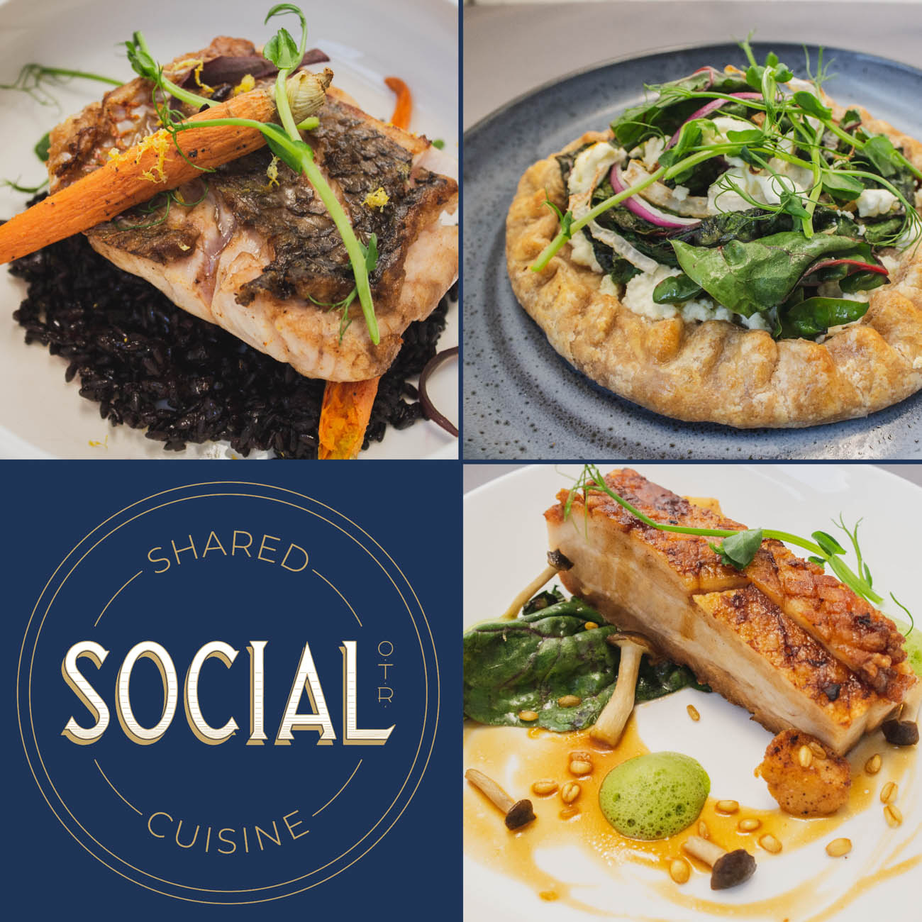 The restaurant opened in February 2019. The food takes cues from all different cultures of cuisine with small plates and communal dining options. The back entrance of Social OTR from Campbell Street is known as The Alley at Social that stays open a little later than the front. They host a 513 Happy Hour from 4 PM-6 PM that includes $5 house wines, $1 oysters, and $3 draft beers. / Image: Erin Glass // Published: 3.27.19