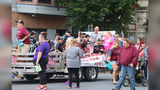Boy hospitalized after accident at parade