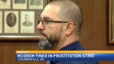 Prostitution sting arrestee appears in court