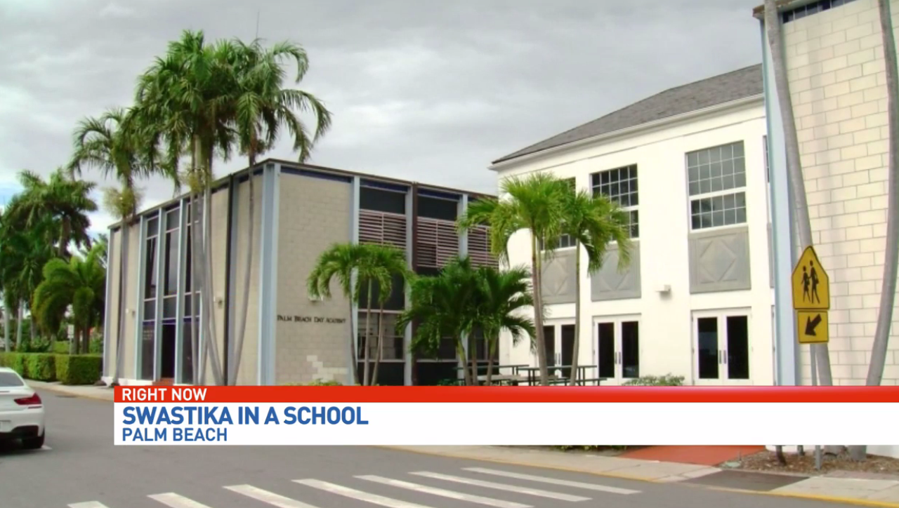 Swastika symbol drawn inside bathroom at palm beach day academy wpec some palm beach parents are concerned after a swastika symbol was found drawn inside the boys biocorpaavc