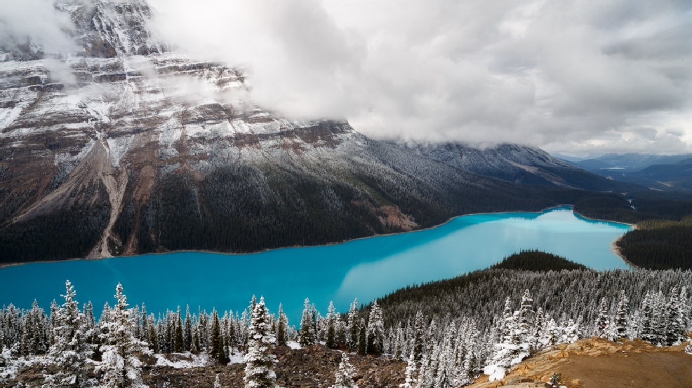 Photos: Canadian Rockies show off natural beauty near Banff