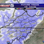 Snow moves into our region on Tuesday