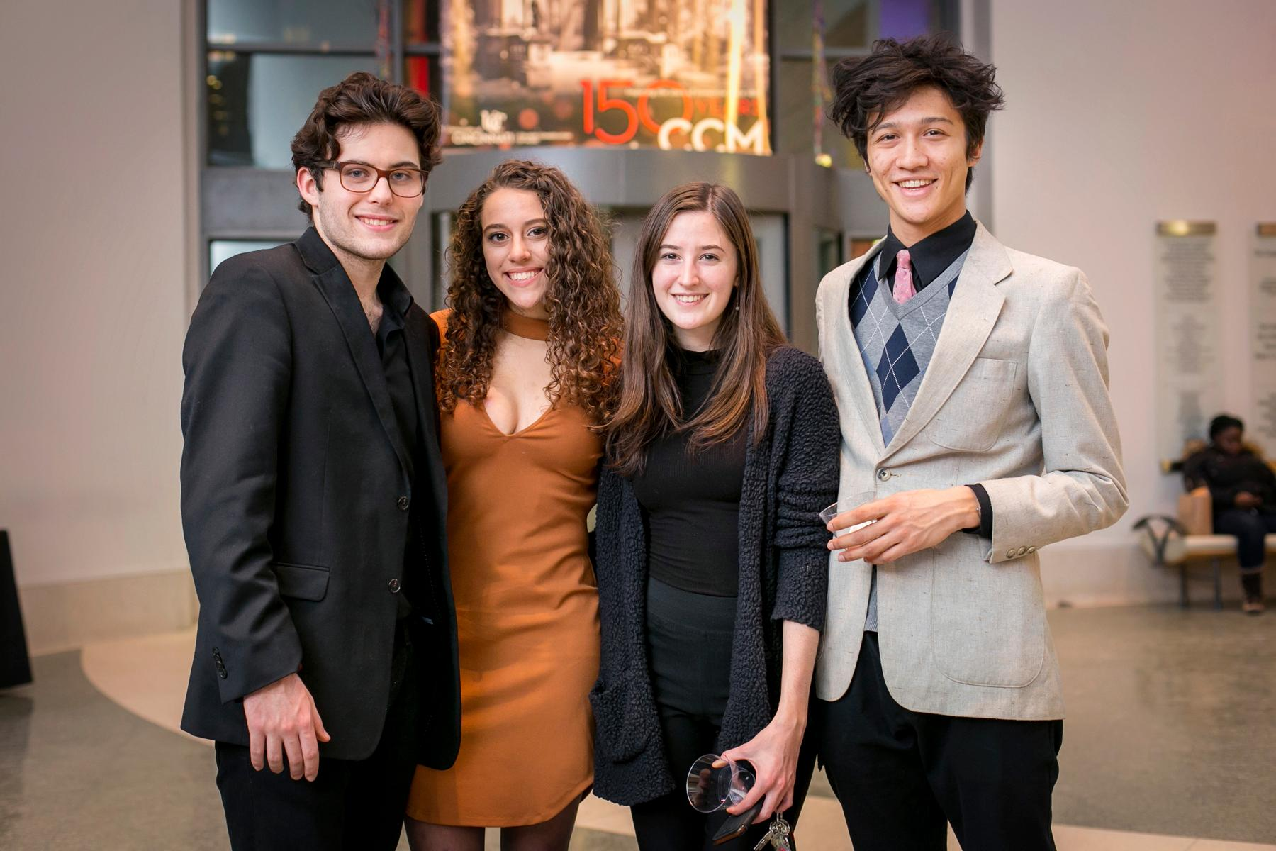 Justin Dawson, Sophie Privitera, Shannon Lock, and Jeremy Myint / Image: Mike Bresnen Photography // Published: 1.20.18