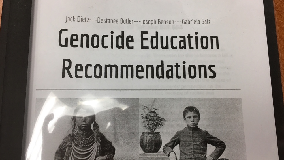 North Eugene students study how to implement Holocaust curriculum in Oregon schools