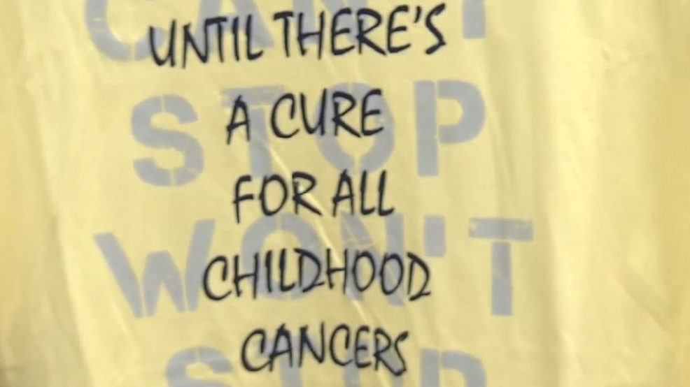 "Competing High Schools plan ""gold out"" during football game for childhood cancer awareness"
