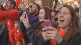 Fans roar: Clemson returns home as national champs