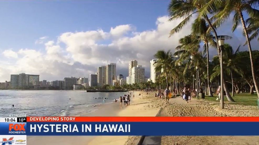 Tourists in Hawaii describe scene after receiving false ...