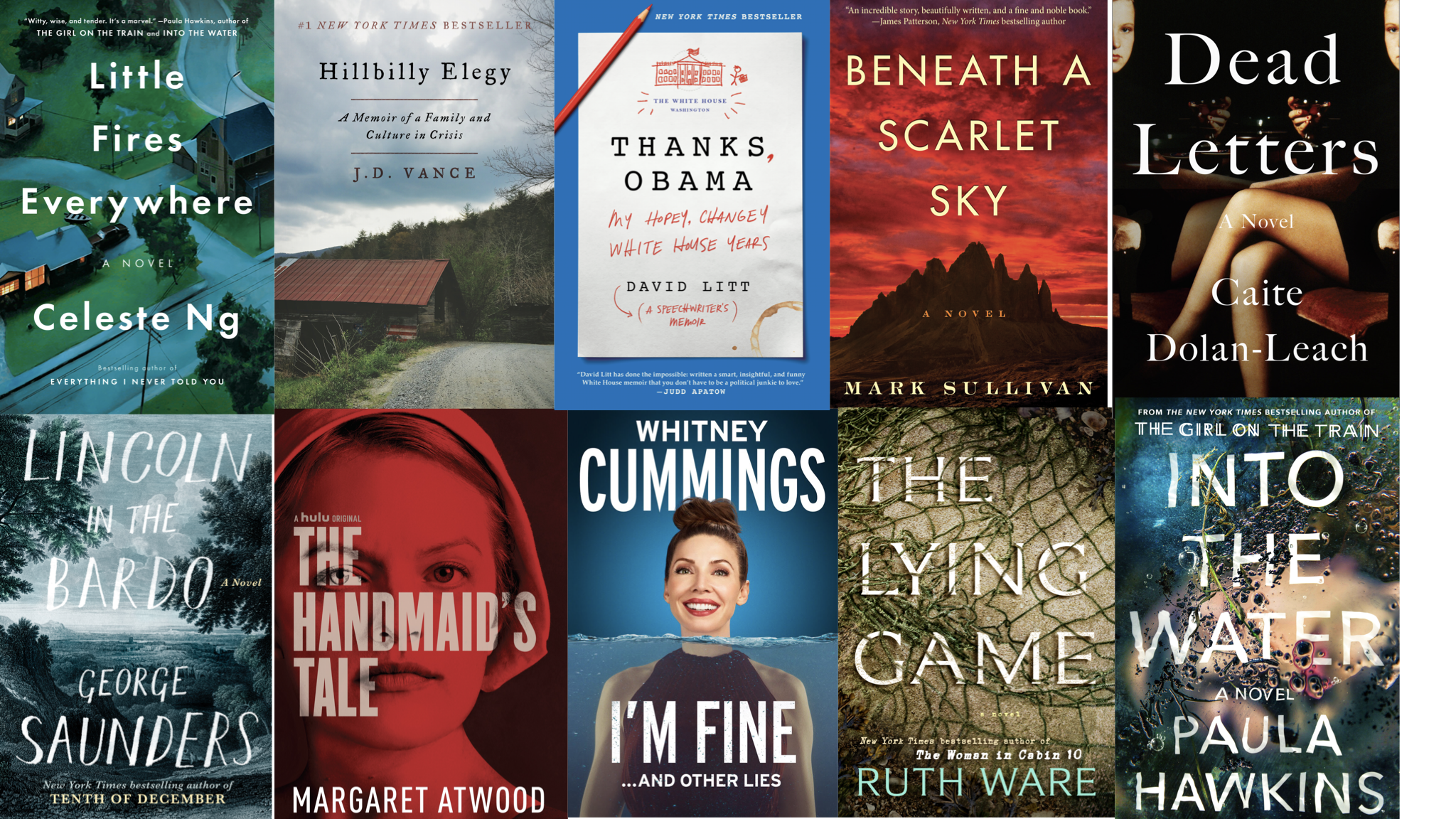 We hope that whenever you are looking for a good book recommendation, you'll check us out, as we publish our favorite books released each season. (Images: Courtesy of each publisher)<p></p>