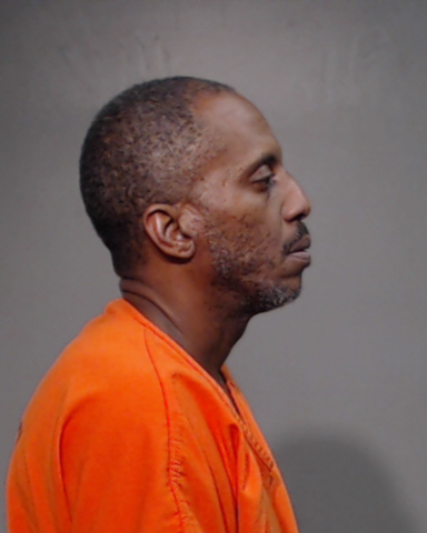 Quentin Marcel Allen, 44, of McAllen is charged with aggravated assault causing serious bodily injury, a second-degree felony. (Photo courtesy of the Hidalgo County Sheriff's Office)<p></p>