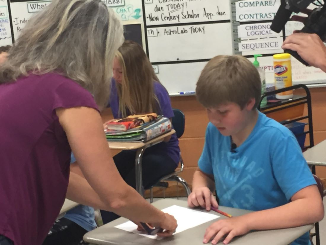 FILE - Conner McKnight of Cullowhee is one of New's 13's finalists for Person of the Year. Since his story aired in May 2017, local teachers have shown his YouTube videos about autism in class and parents have contacted him online asking questions about autism, as well. (Photo credit: WLOS Staff)