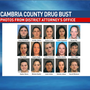 22 face charges in Cambria County drug bust