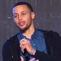 Stephen Curry speaks at Liberty University