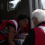 Red Cross volunteers from around the country travel to Texas