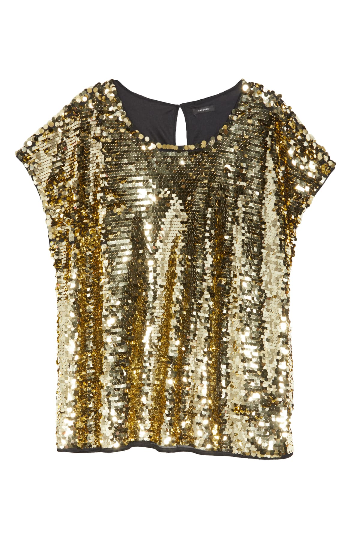 "<a  href=""https://shop.nordstrom.com/s/halogen-sequin-cap-sleeve-top/5527231/full?origin=keywordsearch-personalizedsort&breadcrumb=Home%2FAll%20Results&color=gold"" target=""_blank"" title=""https://shop.nordstrom.com/s/halogen-sequin-cap-sleeve-top/5527231/full?origin=keywordsearch-personalizedsort&breadcrumb=Home%2FAll%20Results&color=gold"">Halogen Sequin Cap Sleeve Top - $47.40.</a>{&nbsp;}From cozy to gold hued to tailored, Nordstrom has the hottest trends for getting glam this holiday season! (Credit: Nordstrom)"