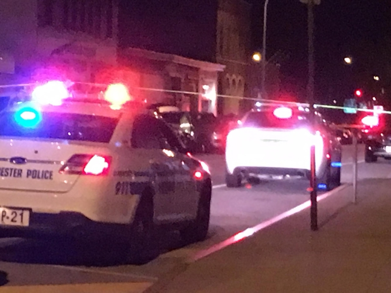 Police investigate fatal shooting on Central Avenue.