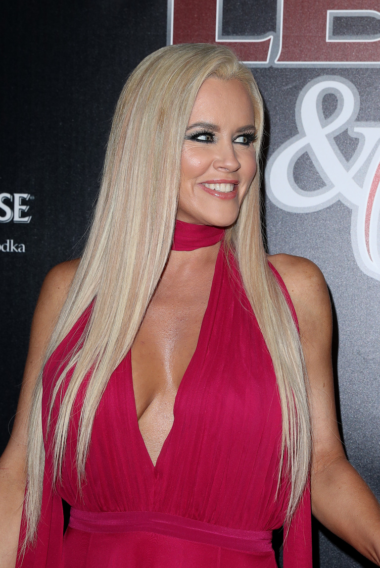 Jenny McCarthy at the 14th Annual Leather & Laces at Hughes Manor in Houston, Texas on Feb. 3, 2017. (Judy Eddy/WENN.com)