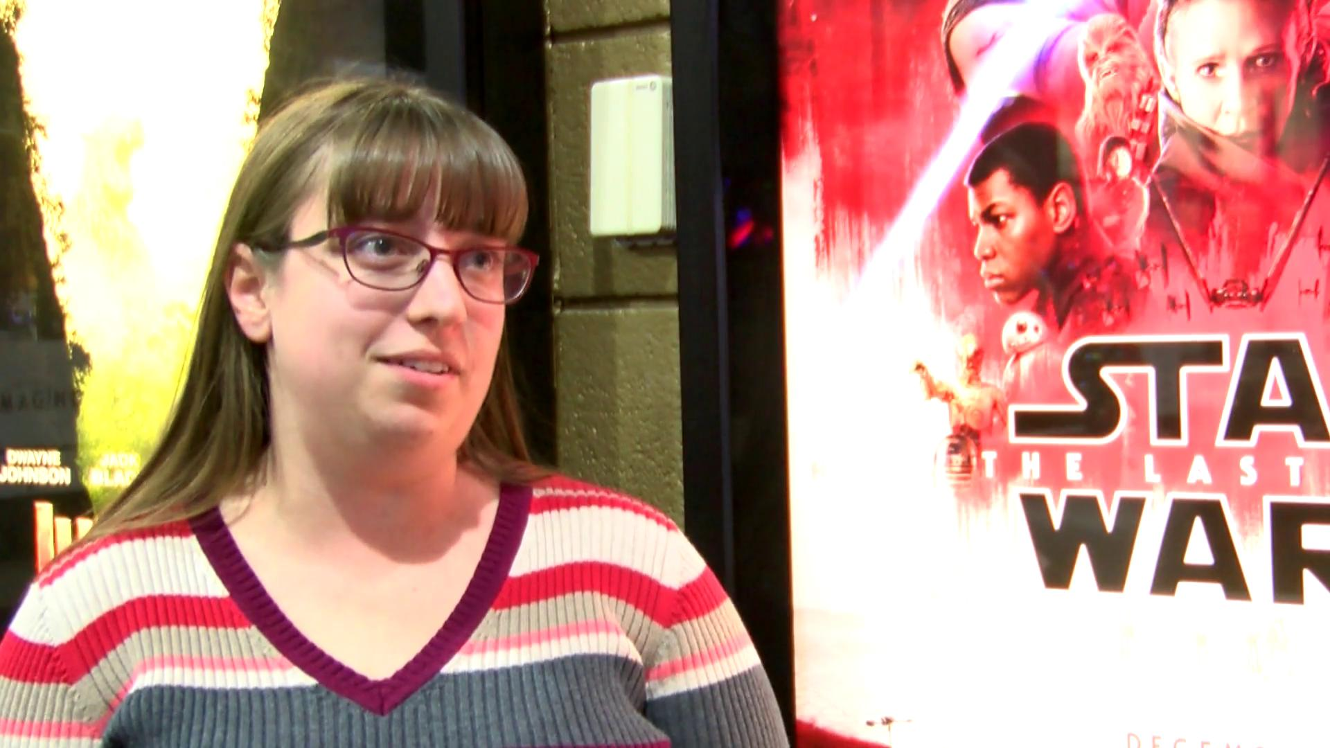 <p>Star Wars fans had 'The Force' with them when they came out in force to see the latest installment of the intergalactic franchise. (Photos by Ian Wood WEYI/WSMH)</p>